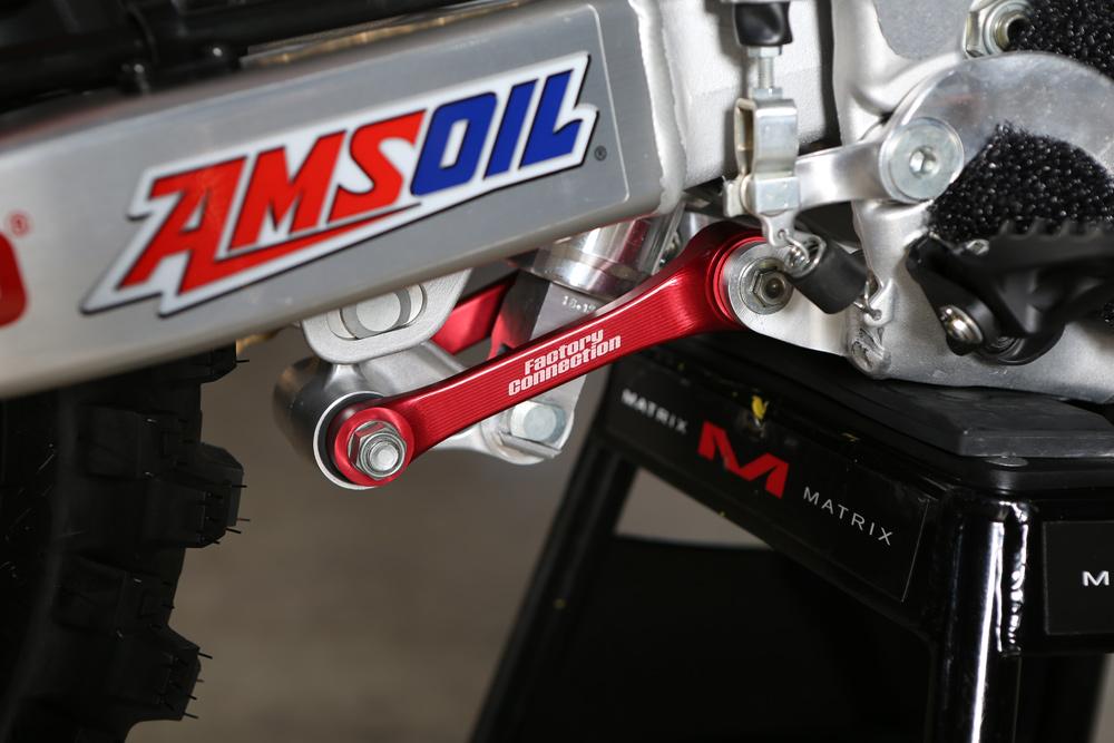 Kevin Windham's Motocross des Nations Race Bike