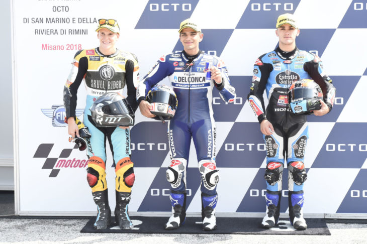 Rodrigo, Martin, Canet, San Marino Moto3 2018