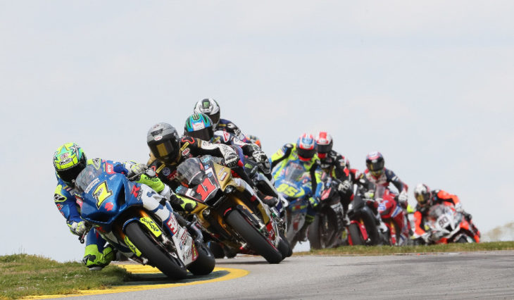 For the second straight year, Road Atlanta in Braselton, Georgia, will kick-off the 2019 MotoAmerica Series, April 5-7. Photo by Brian J. Nelson
