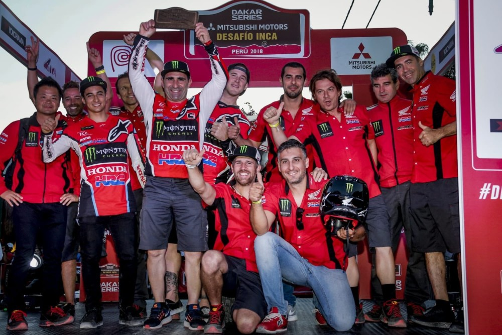 Paulo Gonçalves clinches the 2018 Desafio Inca