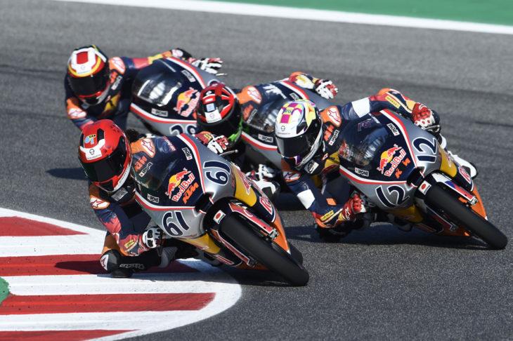 KTM Racing's Recap of Red Bull MotoGP Rookies Cup in Misano