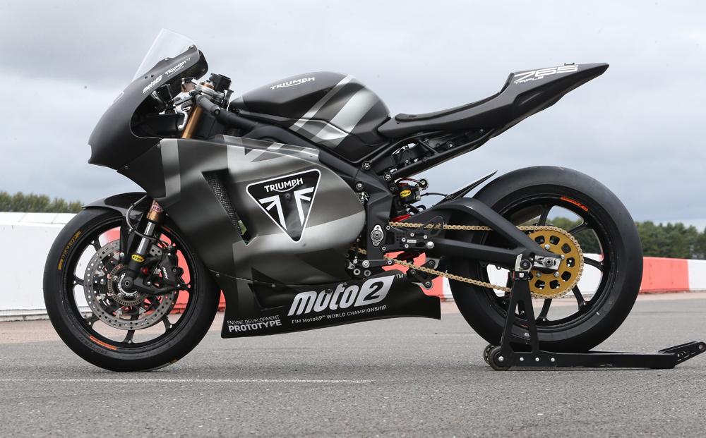 Triumph Moto2 Prototype | Racer Test - Cycle News