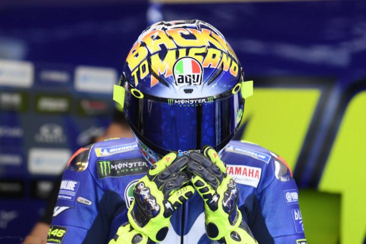 "AGV & Valentino Rossi Unveil New ""Back to Misano"" GP R Helmet"