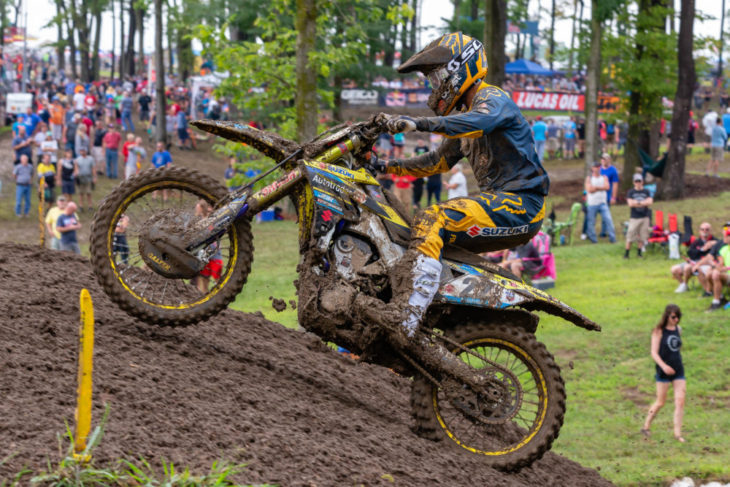 Chad Reed at the Ironman National MX.