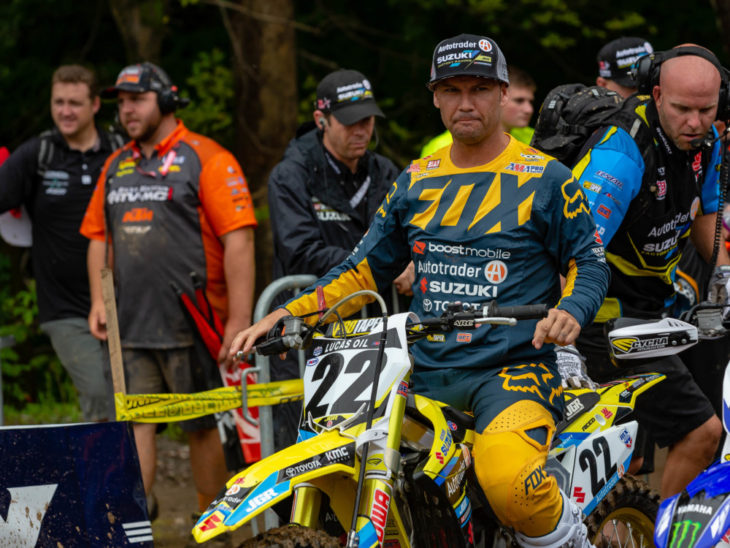 Chad Reed will race the 2018 Monster Energy Cup on a Suzuki