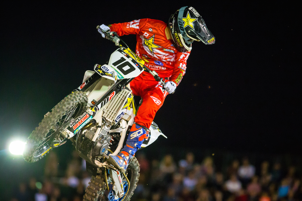 Colton Haaker won the Costa Mesa EnduroCross.