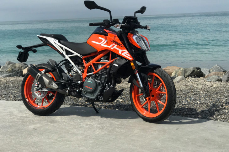 KTM's single-cylinder 390 Duke is a classic case of a good motorcycle that doesn't overthink things