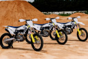 The 2019 lineup of Husqvarna four-stroke motocross machines is the most advanced class of MX bikes the gun-sight branded brand has ever produced.