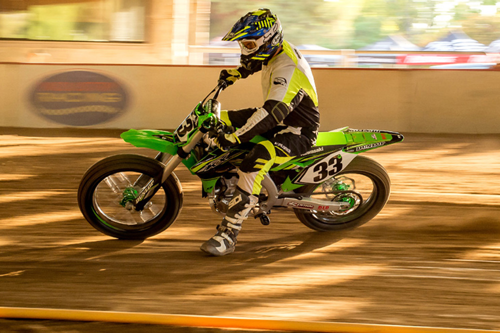 Want to go flat track racing? It's easier than you think, and Kawasaki has built a bike to show you how