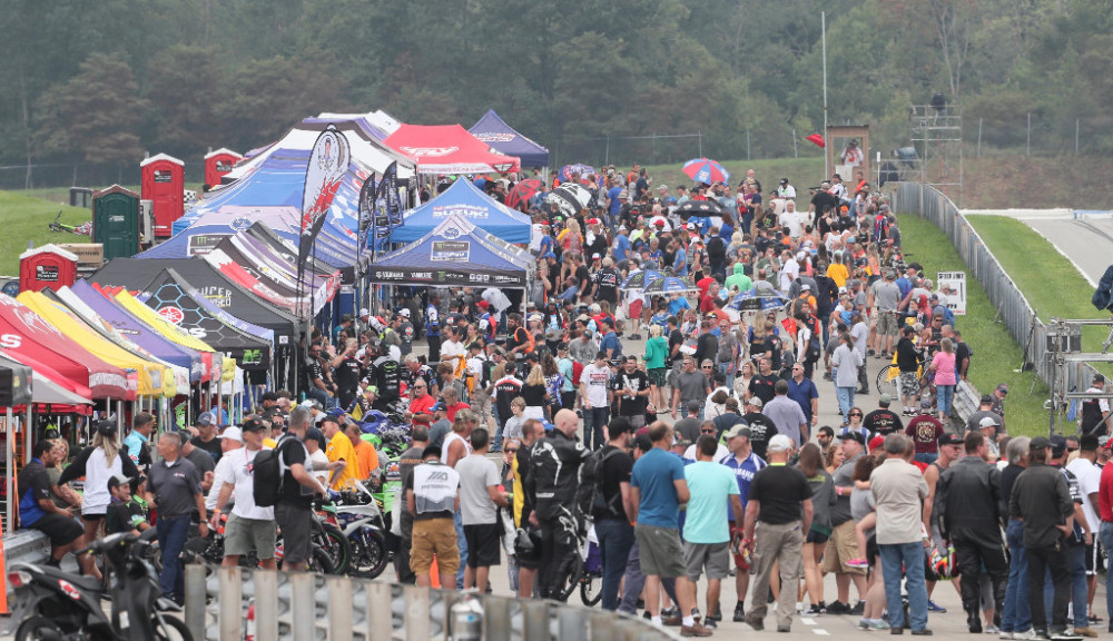 Ticket options for MotoAmerica fans are as plentiful as the off and on-track activities. The series finale takes place at Barber Motorsports Park, September 21-23. Photo by Brian J. Nelson