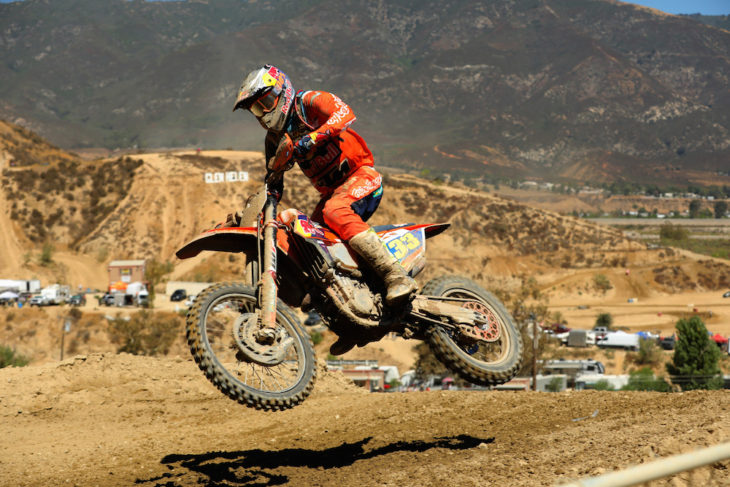 Taylor Robert won the Glen Helen WORCS race.
