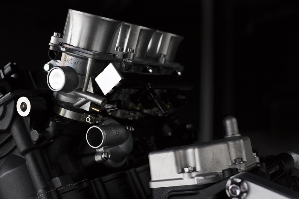 Keihin throttle bodies will be exclusively used on the Moto2 engine.