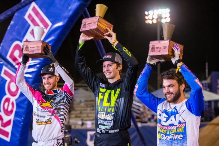 Red Bull Straight Rhythm 125 podium Carson Brown