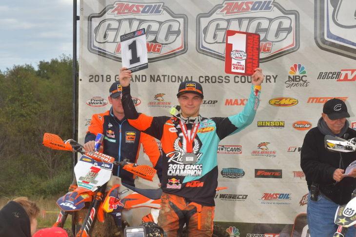 Kailub Russell wins sixth GNCC title