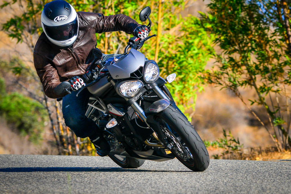 If you want a unique street bike that can carve canyons as easy as it can commute, the is your steed.