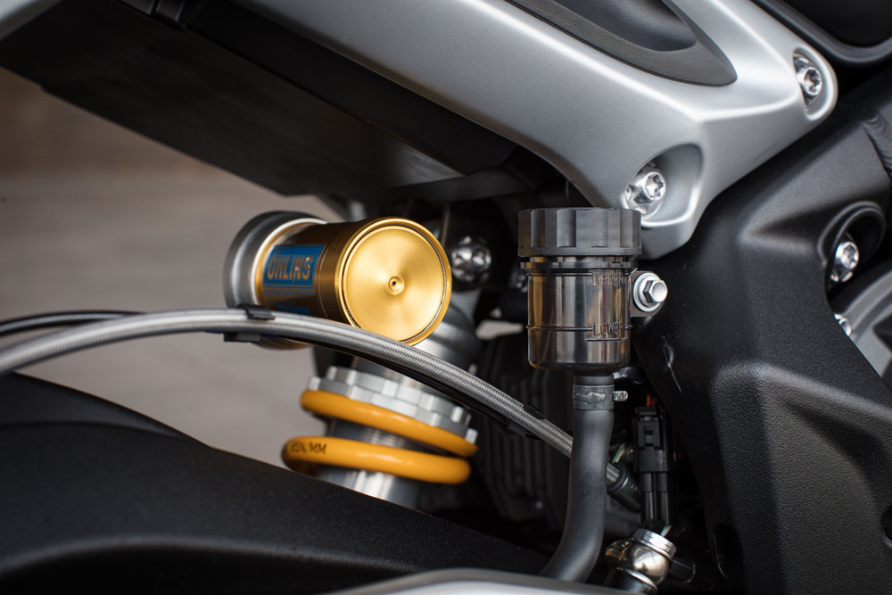 Ohlins suspension on the RS is beautiful but can be a touch hard, but it sure loves to be hustled.