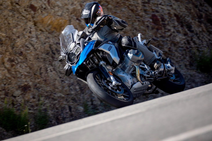 BMW let us loose in Portugal on the all-new R1250GS with ShiftCam Technology