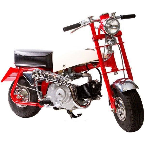 The original Monkey Bike in the 1961 Z100.