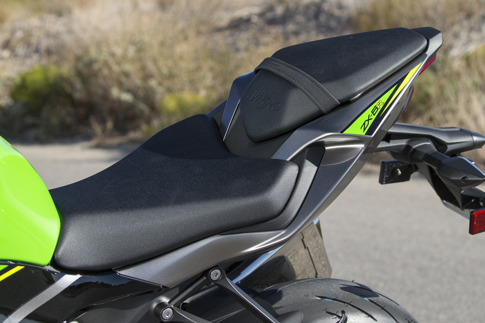 A new seat unit is shorter front to back and narrower.