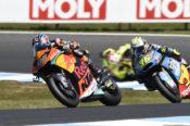Brad Binder, Australian Moto2 race 2018