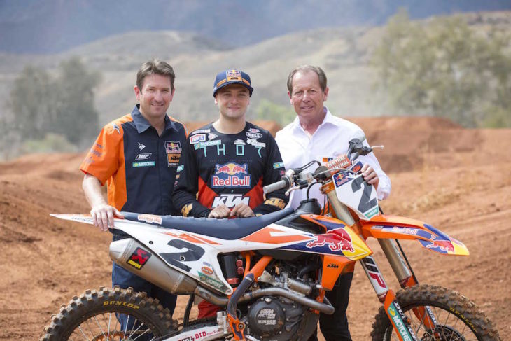 Cooper Webb joins KTM.