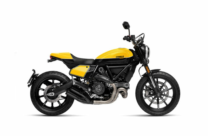 Ducati Scramblers Full Throttle