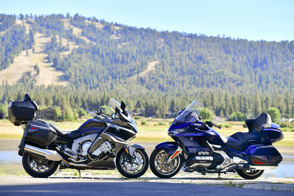 Honda Gold Wing Tour vs  BMW K 1600 GTL - Cycle News
