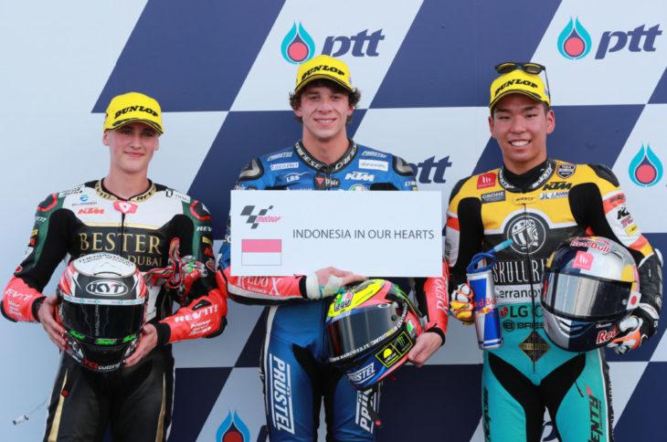 Masia, Bezzecchi, Masaki, Moto3, Thailand MotoGP 2018