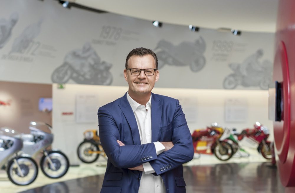 Oliver Stein appointed new CFO of Ducati Motor Holding