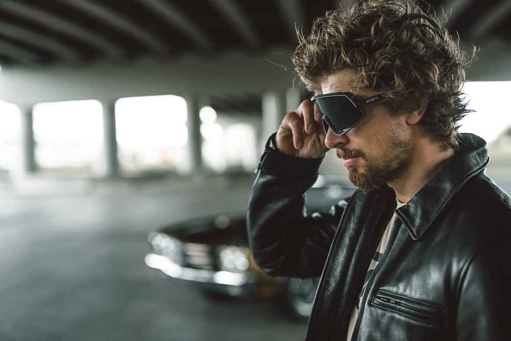Peter Sagan and 100% Glendale Sunglasses