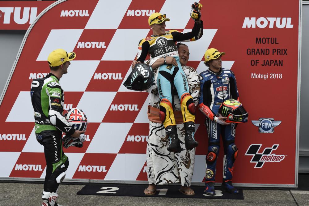 McPhee, Rodrigo, Bezzechi, Japanese Moto3 2018