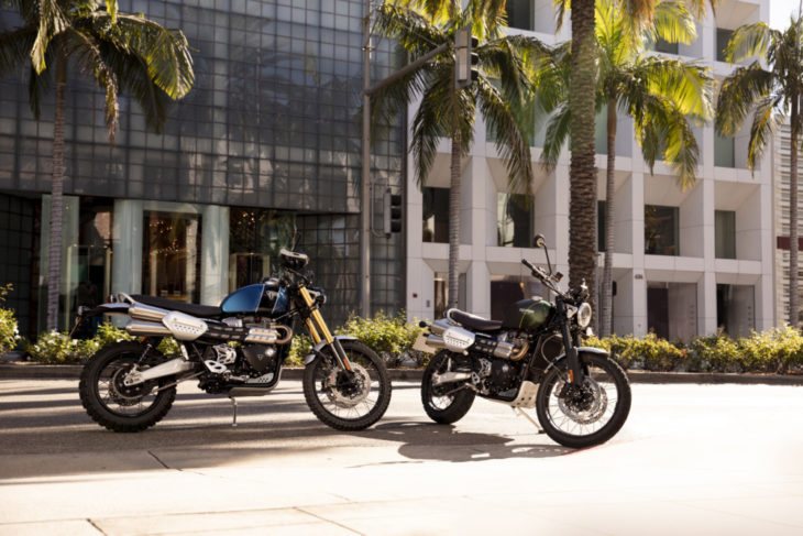 2019 Triumph Scrambler 1200 XC and XE First Look