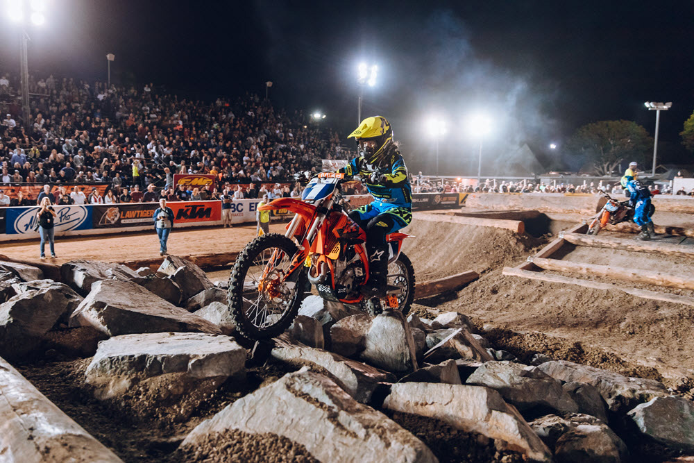 Shelby Turner holds a small advantage over Kacy Martinez in the Women's class after three of six races in 2018. All of the women put on a great show at every race. Photo: Tanner Yeager