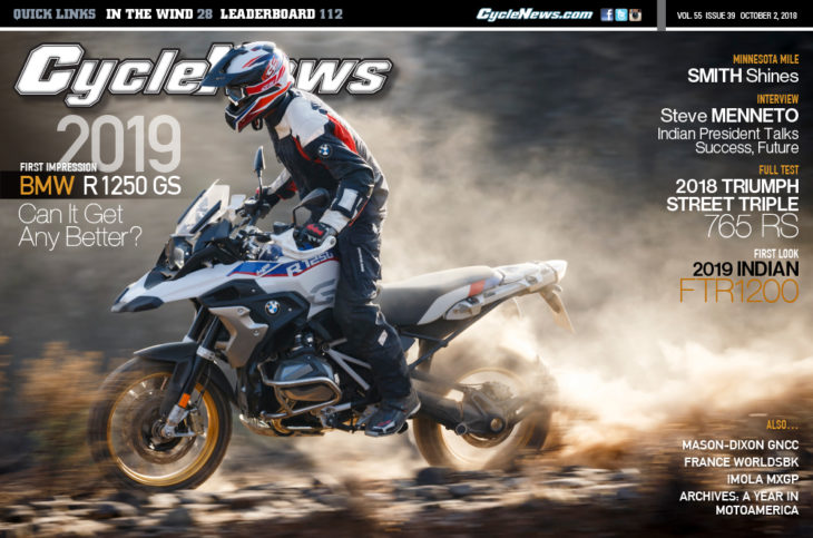 Cycle News cover #39