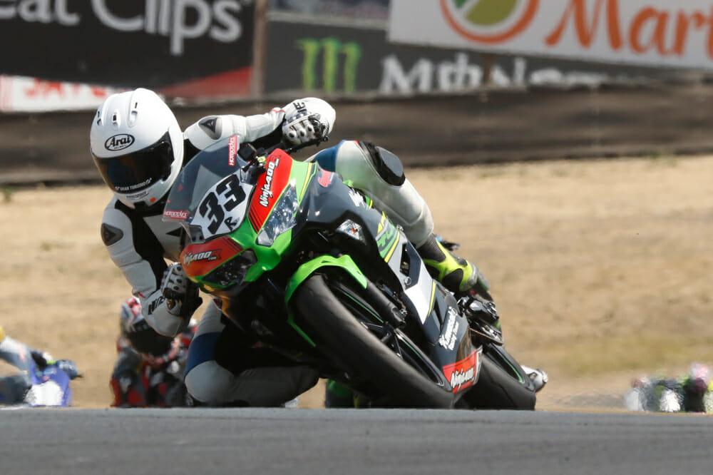Jeremy Toye Ninja400R com Kawasaki Ninja 400 - Cycle News