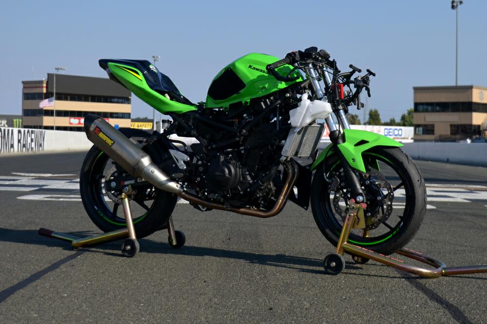 Jeremy Toye Ninja400R.com Kawasaki Ninja 400
