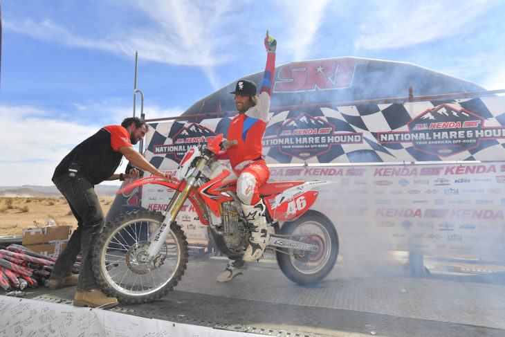 Kendal Norman wins 2018 AMA Hare & Hound title