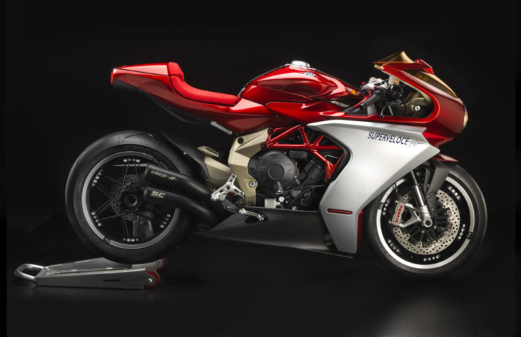 MV Agusta Superveloce 800 Prototype First Look