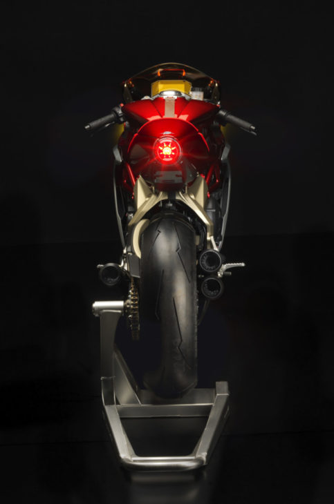 MV Agusta Superveloce 800 Prototype First Look 8