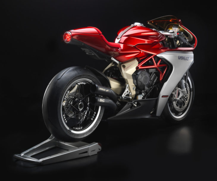 MV Agusta Superveloce 800 Prototype First Look 7