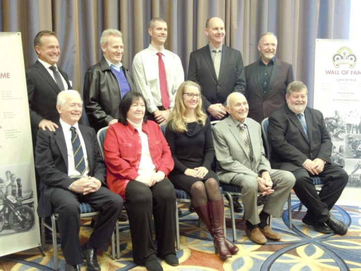 2018 Class Canadian MC Hall of Fame