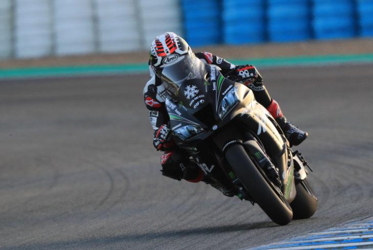 2018 Jerez WorldSBK Test Day One Results