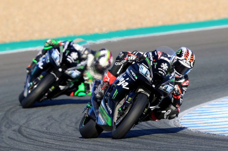 2018 WorldSBK Jerez Test Day Two Results
