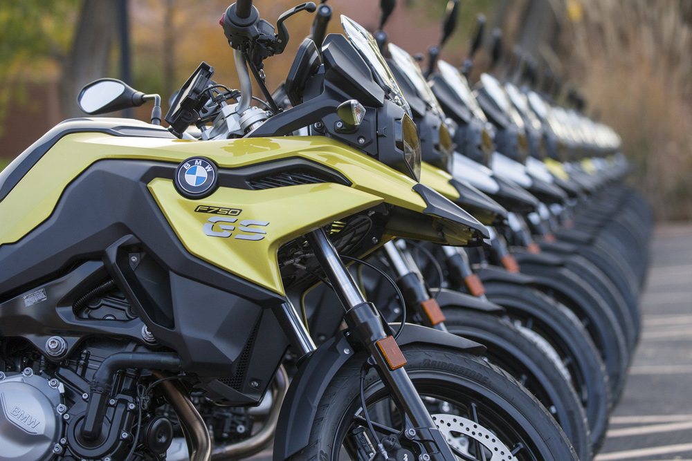 You want accessories for your F 750 GS? BMW's got 'em.