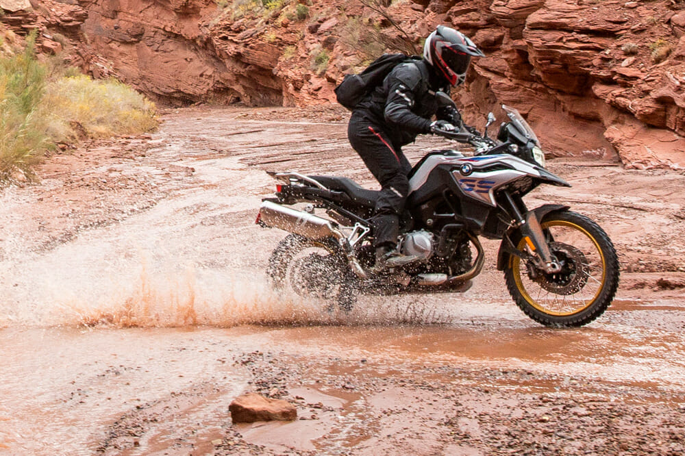 BMW's new F 850 GS is the kind of adventure bike the GS label promises—a true go-anywhere machine.