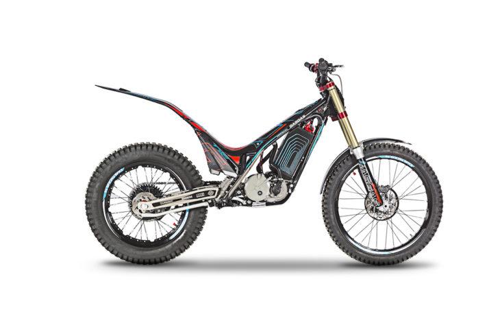 GasGas updated its TXE trials bike for 2019