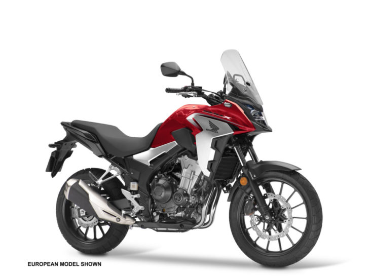 2019 Honda CB500X First Look 2