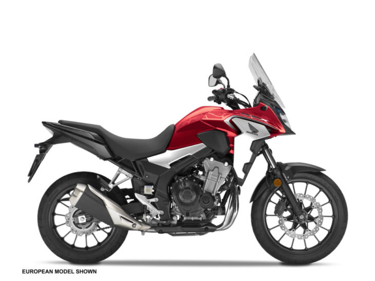 2019 Honda CB500X First Look