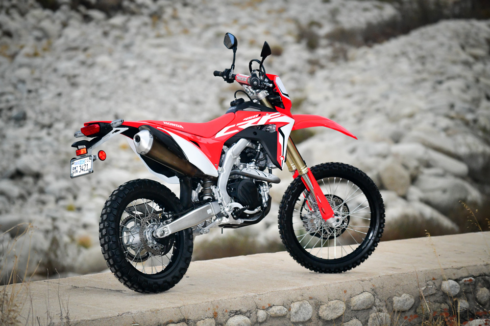 The long-awaited CRF450L is here and we put it to the test