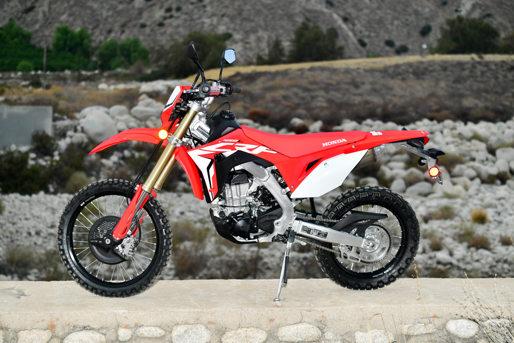 Finally one of the Japanese manufacturers listened and gave us a true dirt bike with a license plate. Hope the others follow.